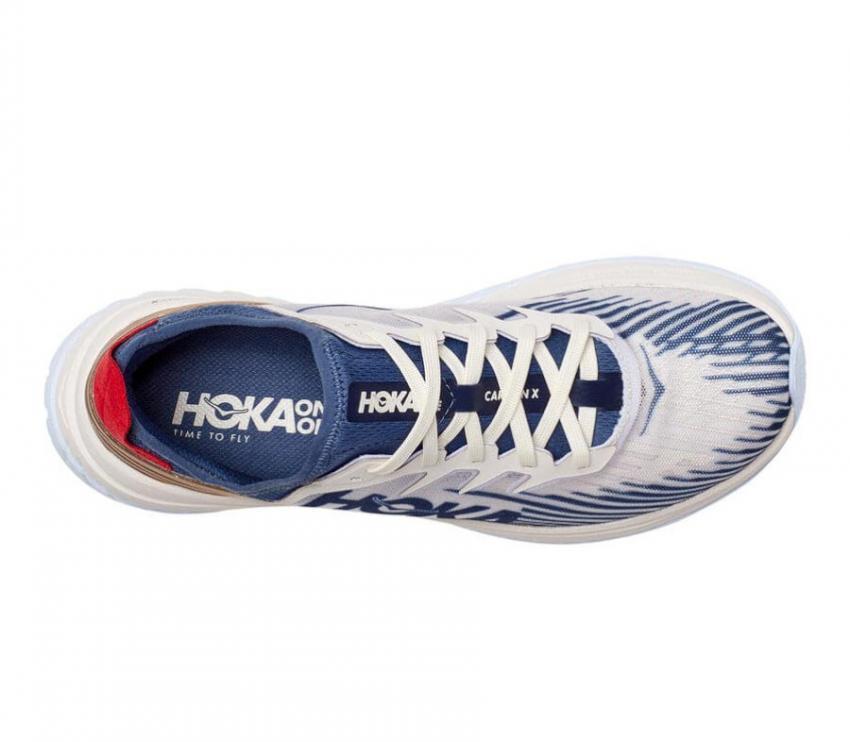 tomaia scarpa da running con suola in fibra di carbonio Hoka carbon x spe