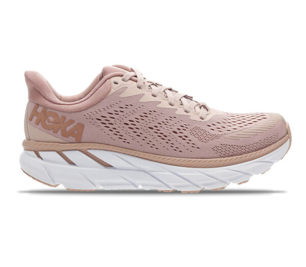 scarpa running hoka one one clifton 7 donna rosa