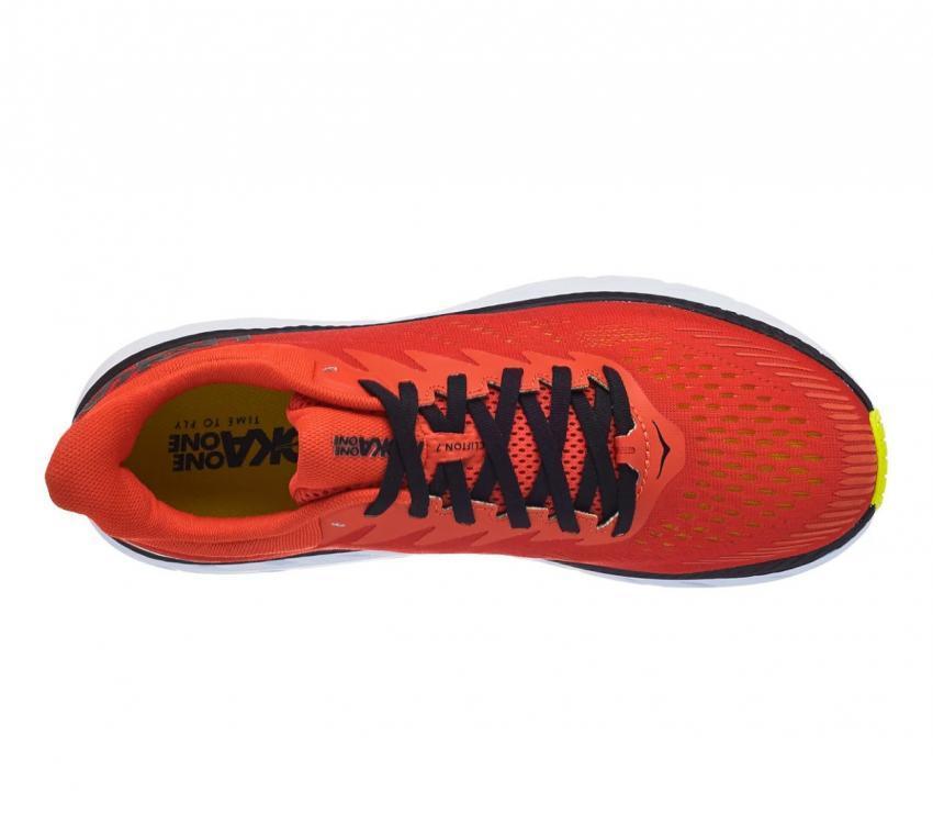 scarpa running uomo Hoka one one Clifton 7 vista dall'alto