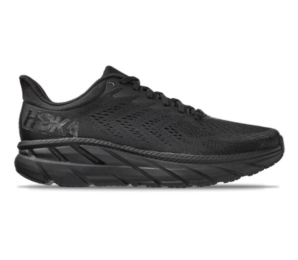 scarpa running uomo hoka one one clifton 7 uomo nera
