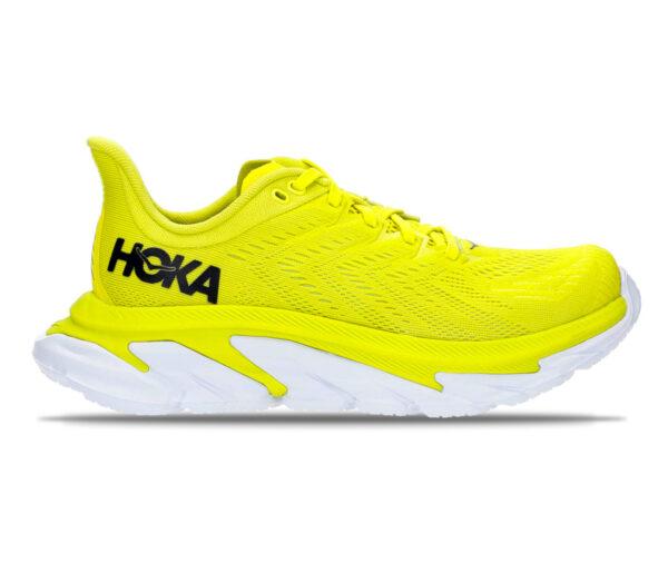 scarpa running gialla uomo hoka one one clifton edge
