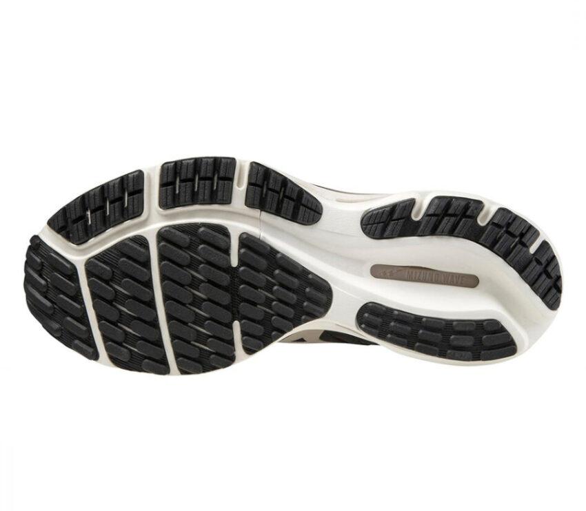 suola scarpa running donna nera mizuno wave rider 24