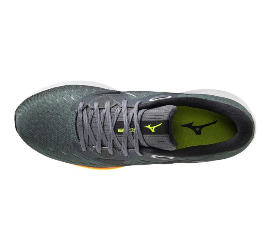 scarpa running uomo mizuno rider 24 vista da sopra