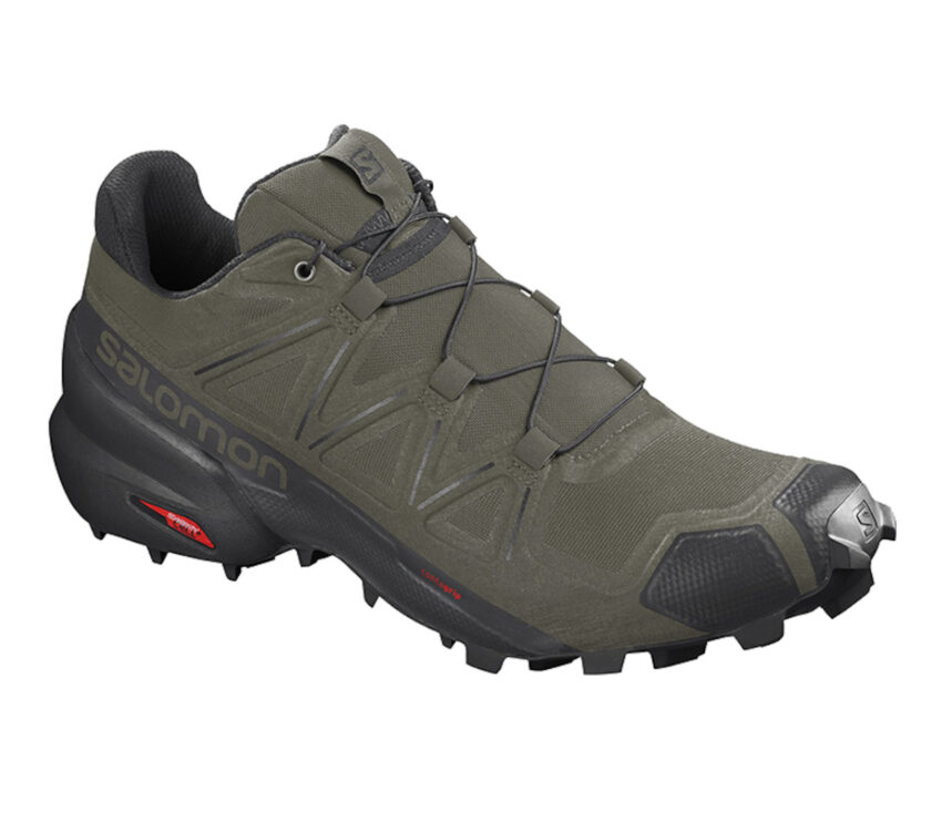 scarpa da trail running uomo salomon speedcross 5 verde