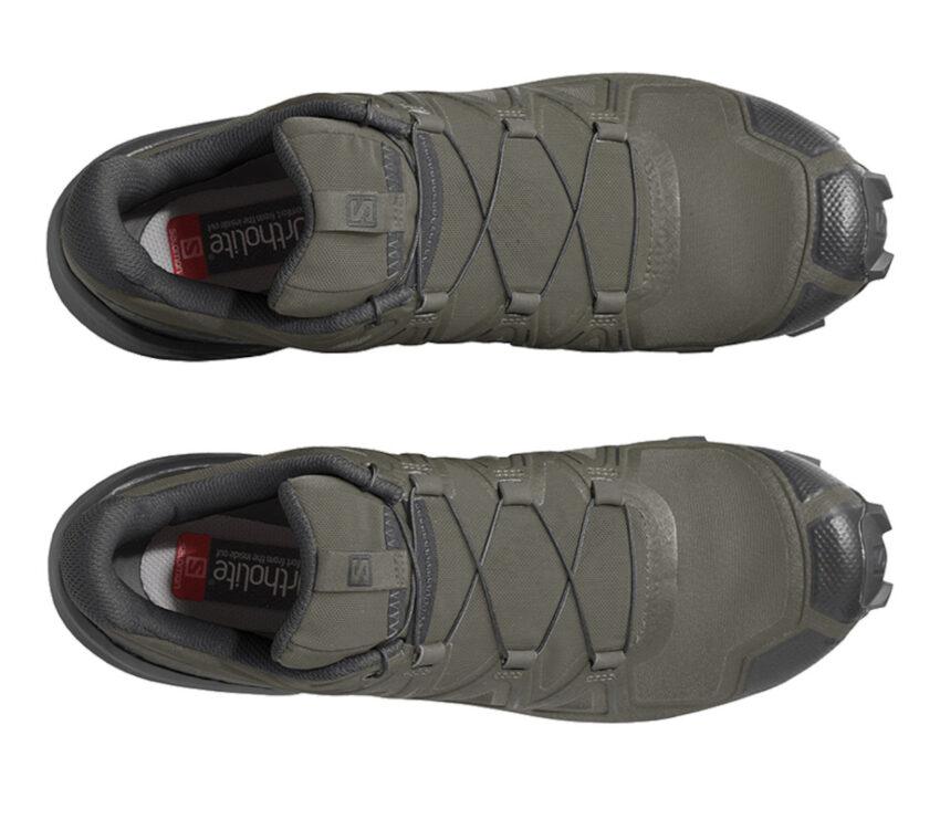 tomaia scarpa da trail running uomo salomon speedcross 5 verde