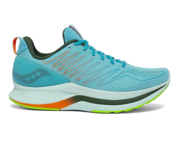 scarpa da running saucony endorphin shift uomo azzurra