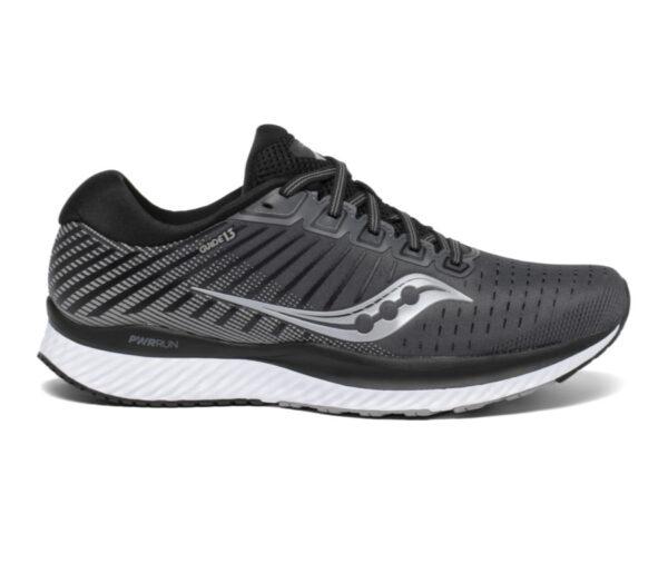 scarpa running uomo saucony guide 13 nera