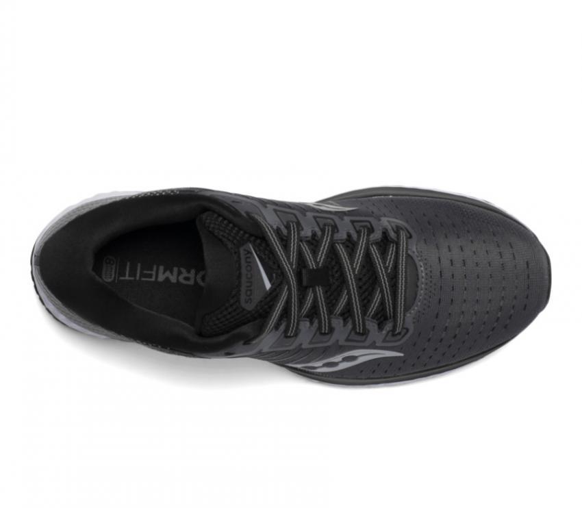 tomaia scarpa running uomo saucony guide 13 nera
