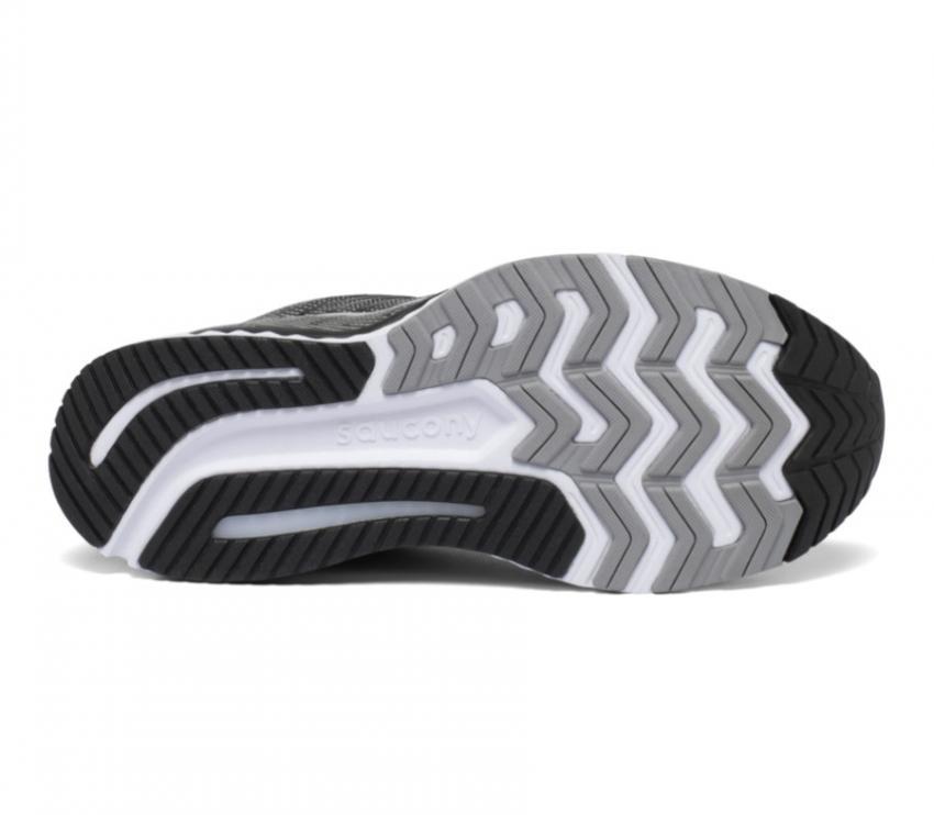 suola scarpa running uomo saucony guide 13 nera