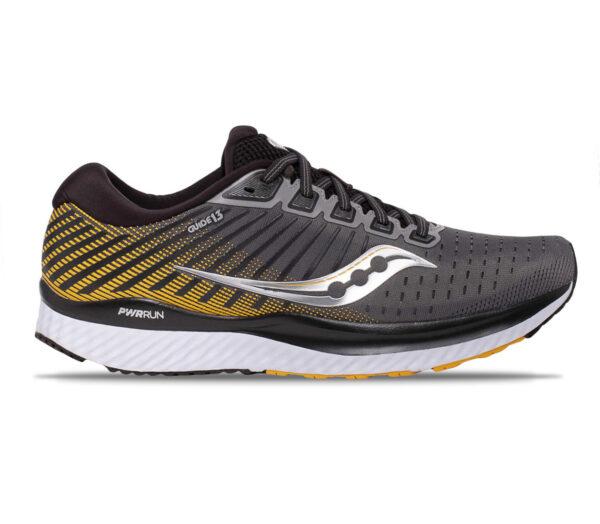 scarpa da running uomo saucony guide 13 45 giallo