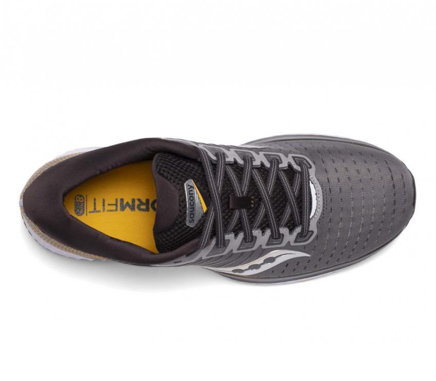 tomaia scarpa da running uomo saucony guide 13 45 giallo