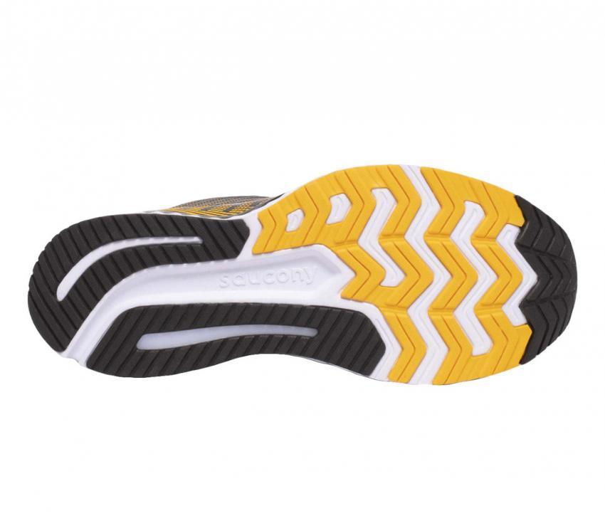 suola scarpa da running uomo saucony guide 13 45 giallo
