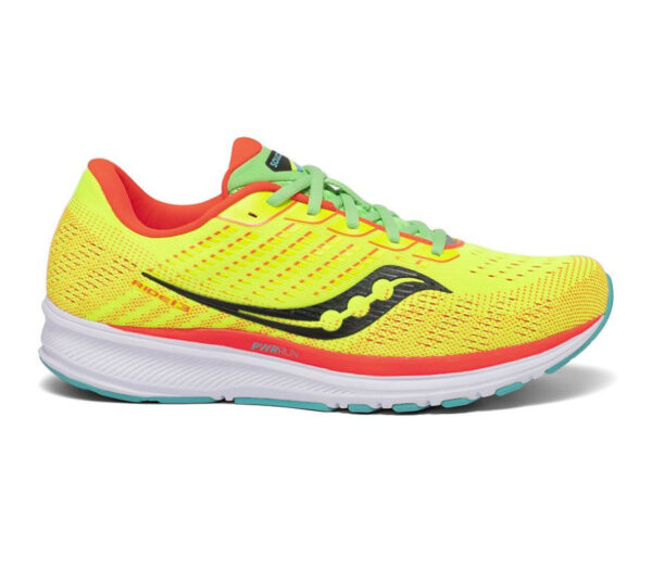 scarpa running donna saucony ride 13 gialla