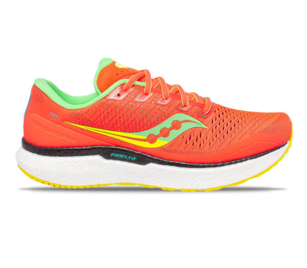 scarpa da running donna saucony triumph 18 rosso