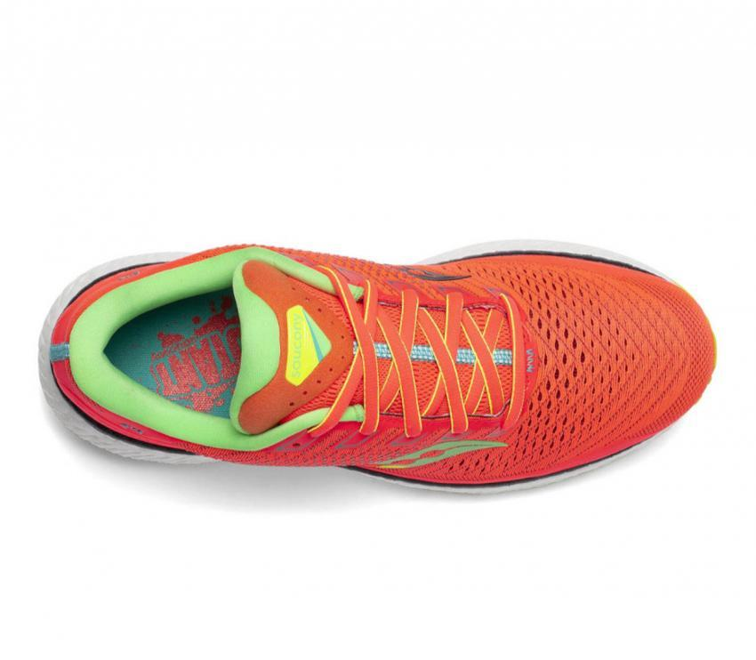 tomaia scarpa da running donna saucony triumph 18 rosso