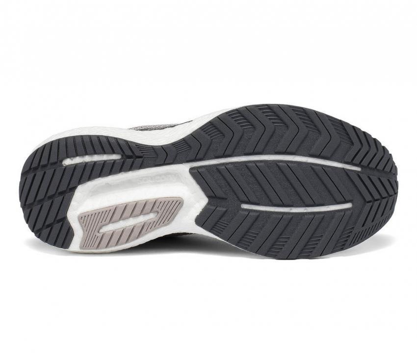 suola scarpa da running donna saucony triumph 18 rosa-grigio