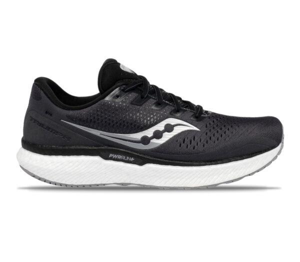 scarpe running nere saucony triumph 18 uomo
