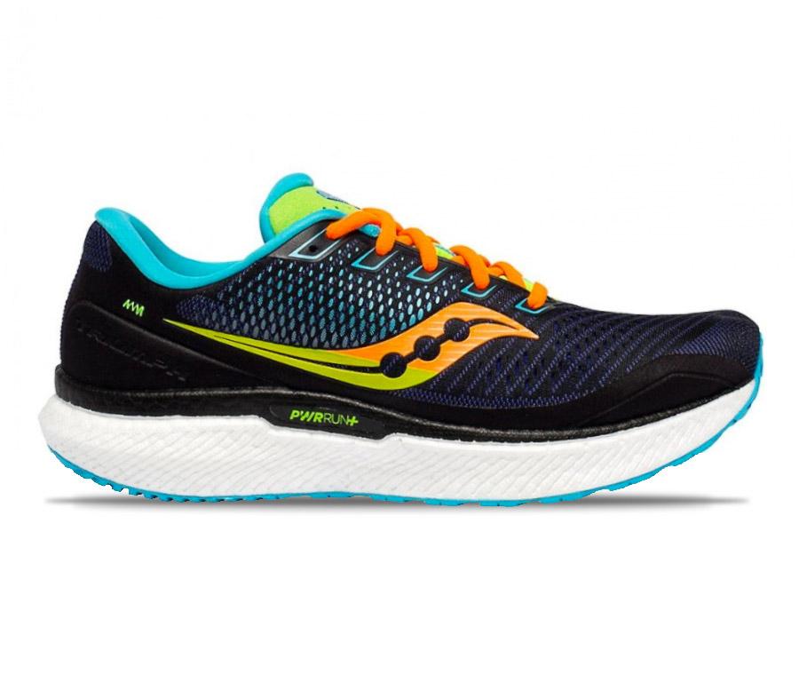 scarpa da running saucony triumph 18 uomo blu