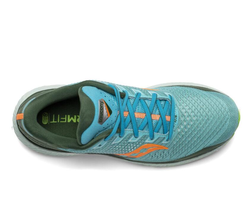 tomaia scarpa da running uomo saucony triumph 18 azzurra