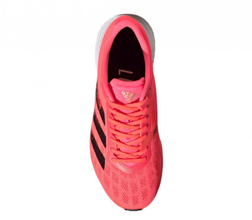 scarpa running da donna Adidas adizero boston 9 vistra da sopra