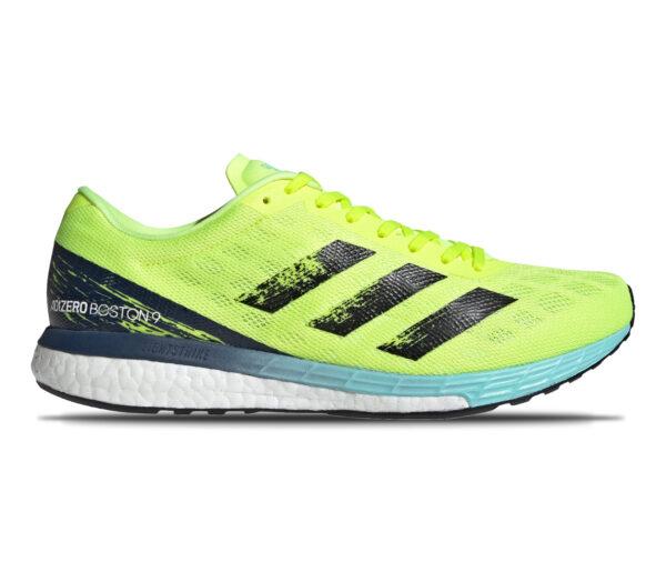 scarpa da running performance adidas boston 9 fluo