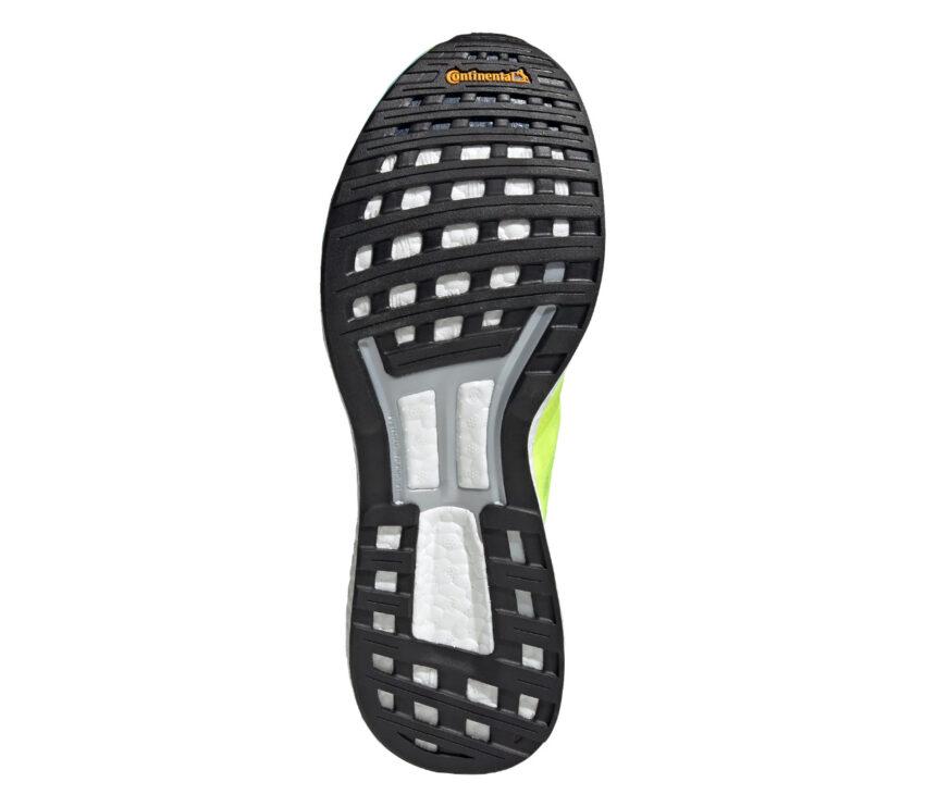 suola scarpa da running performance adidas boston 9 fluo