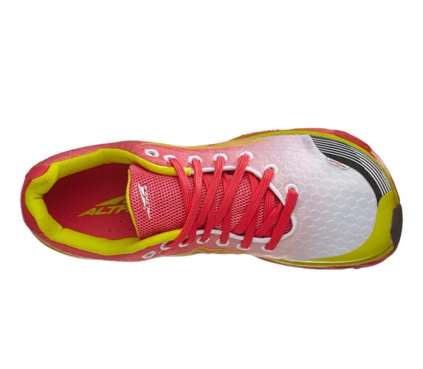 scarpa altra impulse da running per donna vista da sopra