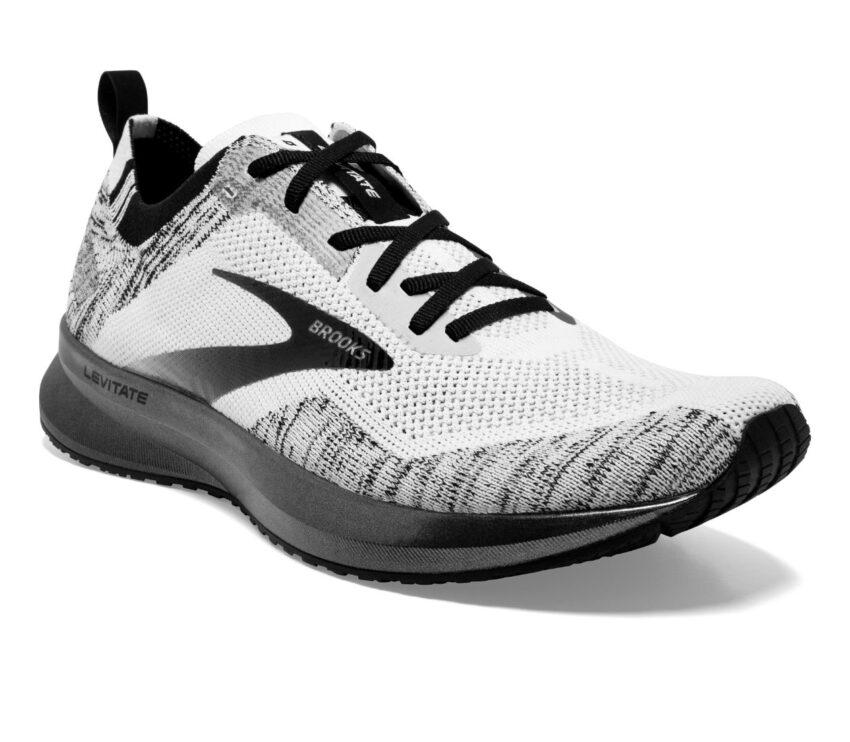 tomaia scarpa da running brooks levitate 4 grigia