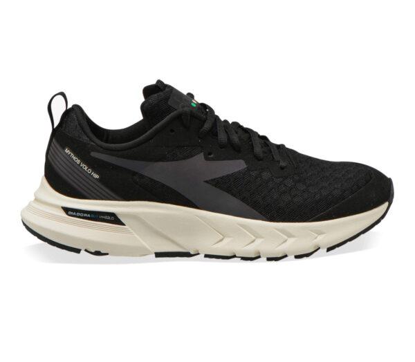 scarpa da running donna neutra diadora blushield volo hip nera
