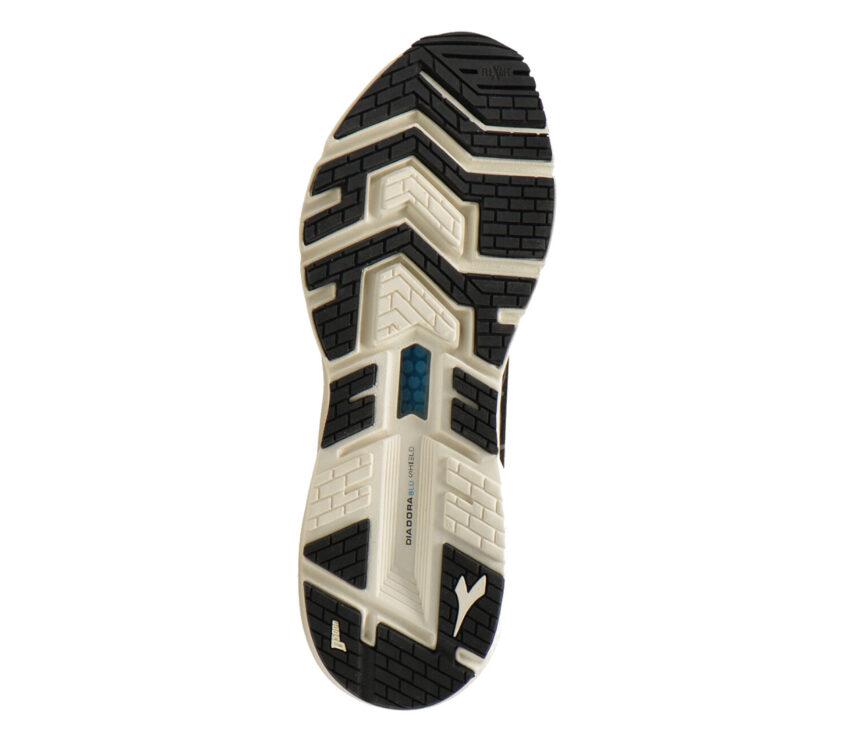 suola scarpa da running donna neutra diadora blushield volo hip nera