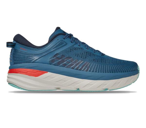 scarpa da running uomo hoka one one bondi 7 blu