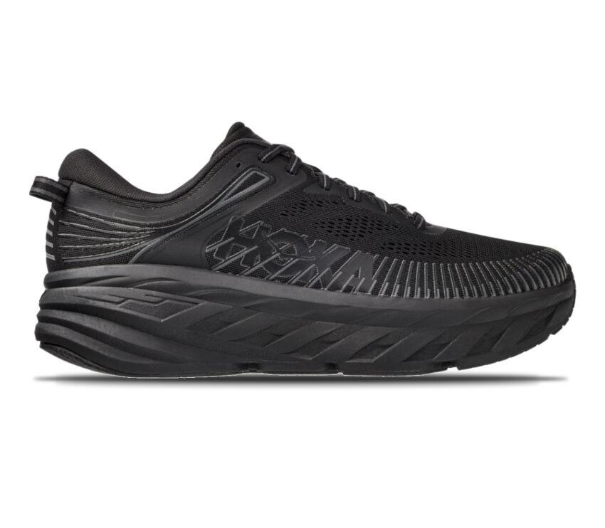 scarpa da running uomo hoka one one bondi 7 nera