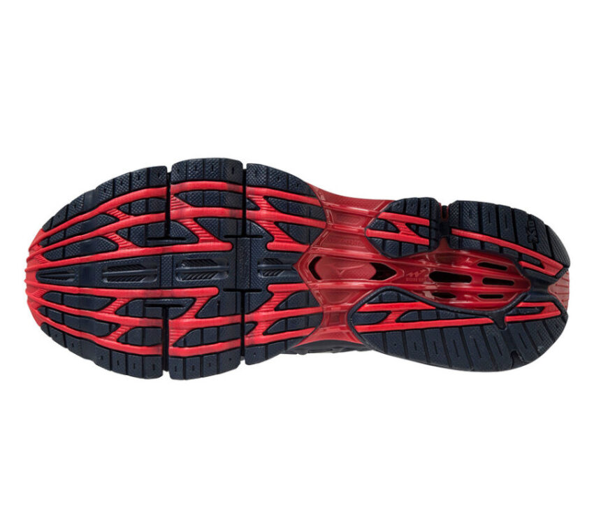 suola scarpa running uomo mizuno wave prophency 9 per runner pesanti