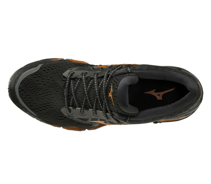 scarpa running per runner pesanti mizuno wave prophency 9 vista da sopra