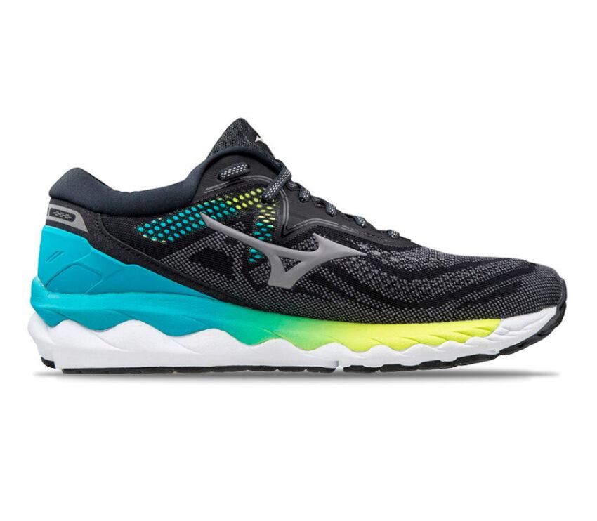 scarpa da running donna mizuno wave sky 4 nera