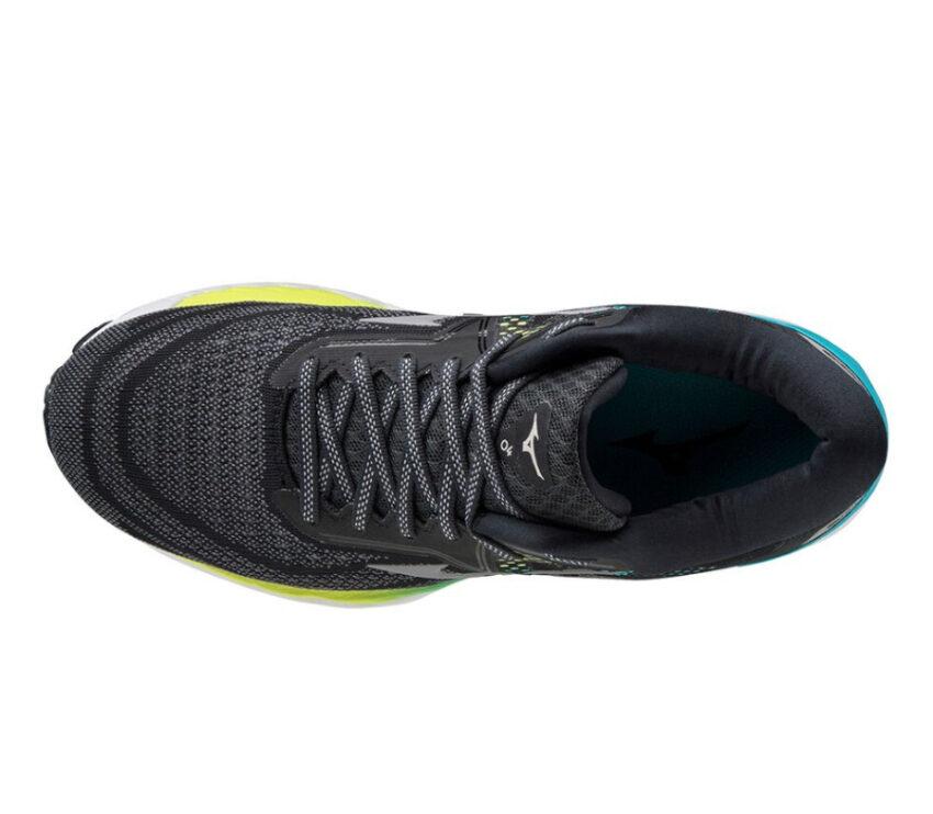 tomaia scarpa da running donna mizuno wave sky 4 nera