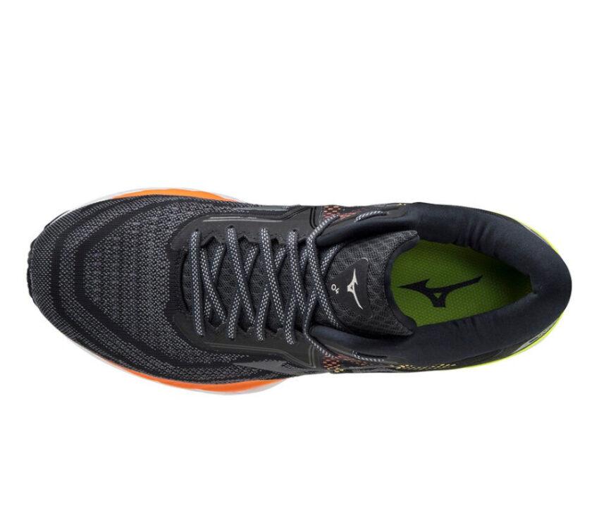 tomaia scarpa da running uomo mizuno wave sky 4 nera