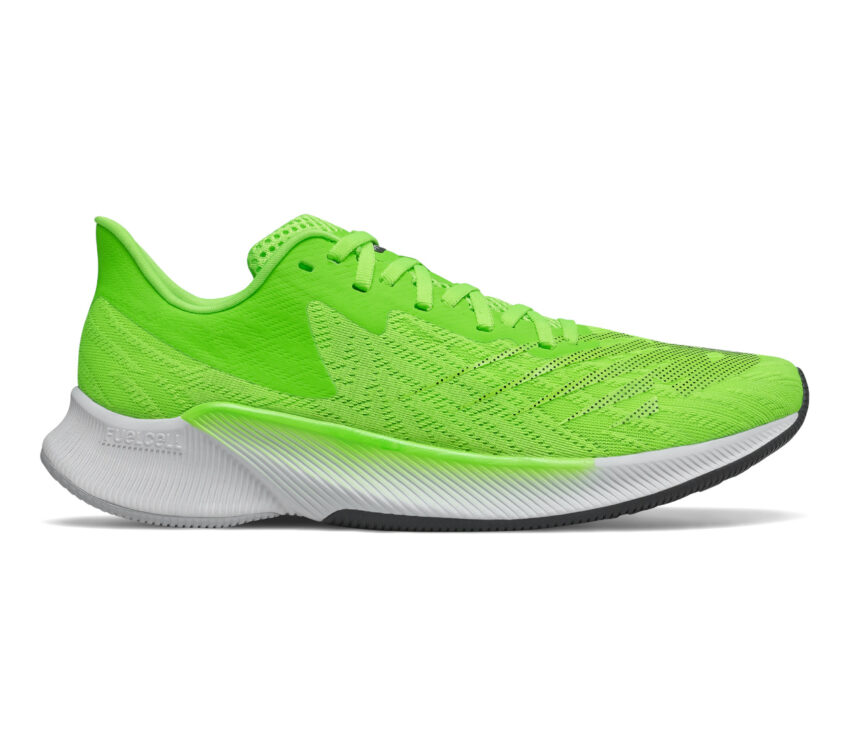 scarpa da running pronatori new balance fuelcell prism verde