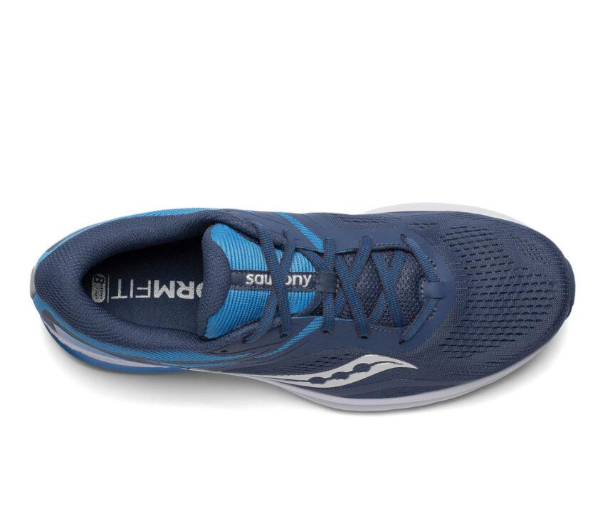 tomaia scarpa da running uomo saucony jazz 22 blu