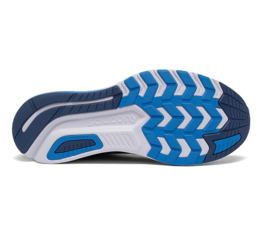 suola scarpa da running uomo saucony jazz 22 blu