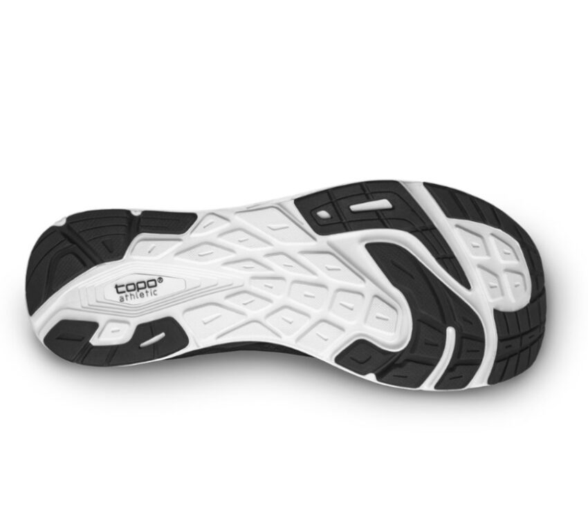 scarpa da uomo natural running topo magnifly 2 nera