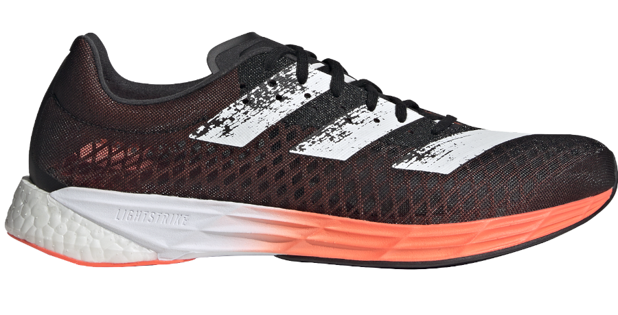 scarpa adizero pro con piastra in fibra di carbonio