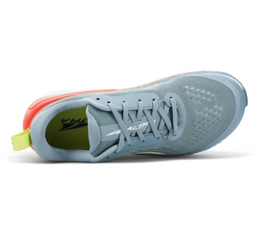 tomaia scarpa da running minimale donna altra paradigm 5 grigia