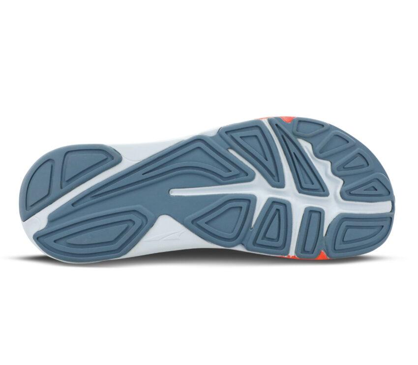 suola scarpa da running minimale donna altra paradigm 5 grigia
