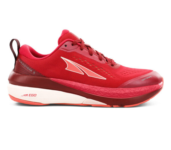 scarpa da running minimale donna altra paradigm 5 rossa
