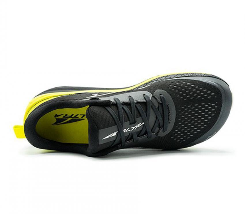 scarpa running uomo nera altra running paradigm 5 vista da sopra