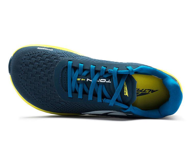 tomaia scarpa da running altra torin plush 4.5 blu