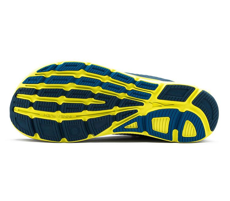 suola scarpa da running altra torin plush 4.5 blu