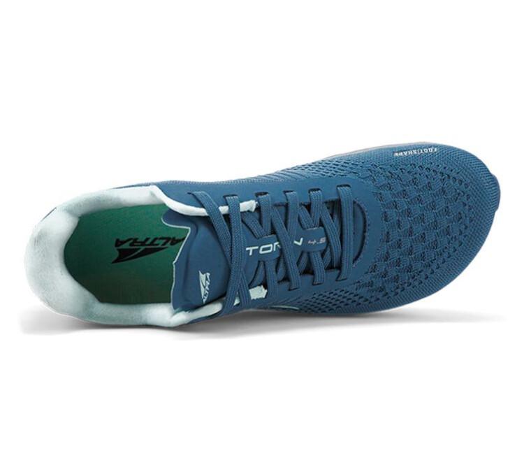 tomaia scarpa running donna altra torin plush 4.5 blu