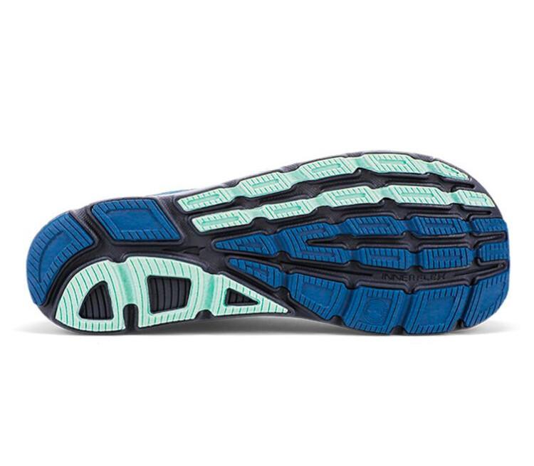 suola scarpa running donna altra torin plush 4.5 blu